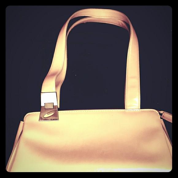 Guess Handbags - Guess Tan shoulder bag